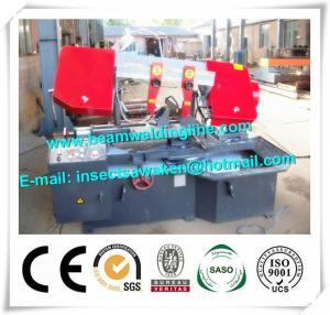 Quality Emi Auto CNC Plasma Metal Cutting Bandsaw Machine Double Housing for sale