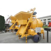 Hydraulic Tipping Hopper Concrete Mixer JZM500 Reversing Drum Mobile Electric Type Manufactures