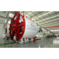 Tunnel Construction Earth Pressure Balance Shield Tunneling Machine Φ8080mm Size Manufactures