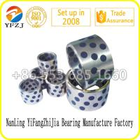 High speed and performance steel bushing with graphite,cast iron inlaid bushing Manufactures