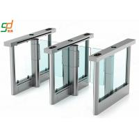 Fare Gates Automatic Turnstiles Access Control Barrier Auto Swing Barrier Gate Manufactures