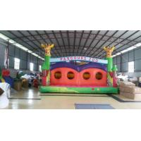 Fireproof Funny Inflatable Sports Games Colored Castle For Children Playing Manufactures