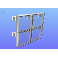 Quality Exterior or Interior Aluminium Glass Curtain Wall Fabrication And Engineering for sale