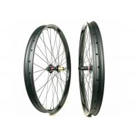 50MM Height 25MM Width Carbon Mountain Bike Wheelset 29ER Plus 60 Psi Manufactures