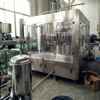 China 8000kg 16000bph - 18000bph liquid filling machine for 150-320mm Height Bottles on sale