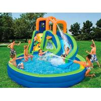 Outdoor Popular Inflatable Pool With Slide Inflatable Water Sport Toys Manufactures