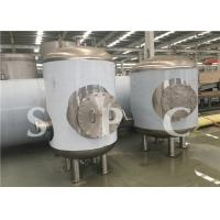 Fruit Drink Steam Sterilization Equipment Low Temperature Roller Type Manufactures