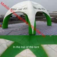 Advertising Inflatable Tent , Inflatable Spider Dome Tent with Legs Manufactures