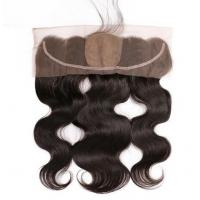 China Pre Plucked Silk Base Lace Closure 13x4 Curly Hair Lace Front Wigs Tangle Free on sale