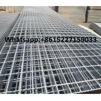 Serrated I type steel grating Manufactures