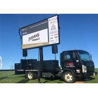 Slim Led Mobile Billboard Car Led Display Screen For Public Relations Activities Manufactures