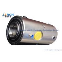 Round Water Hydraulic Rotary Union 2 Passage of 30mm ID80mm rotating joints Manufactures