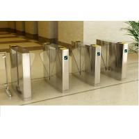 High Class optical flap barrier for A plus office buildings, mirror surface treatment Manufactures