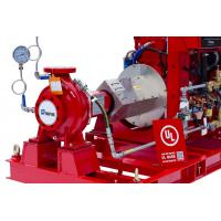 China Electric Motor End Suction Fire Pump , Fire Fighting Pump Water Pump 300GPM 86PSI on sale