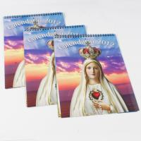 2012 charity  december Poster Customized Calendar Printing Service with YO Binding Manufactures