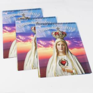 YO binding CMYK or PMS wood free paper Customized Calendar Printing, SGS-COC-007396 Manufactures