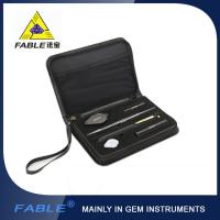 Portable Diamond Tester , Gemological Portable Identification Tool Kit with 6 Items FGB-6 Manufactures