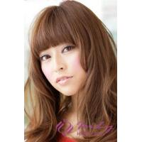 Golden Brown Long Curly Hair for Round Faces Wig