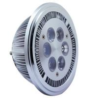 Aluminum 12w 12V dimmable ar111 led spot light 85Ra with bridgelux chip led Manufactures