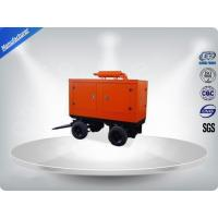 400 / 230V Portable Trailer Mounted Generator 191 Kw Output Power In - Line Config Manufactures