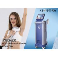 Buy cheap Soprano 808 nm diode laser hair removal machine price 3 wavelengths diode laser from wholesalers