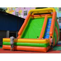 customized Inflatable Water Sports Inflatable Slides / Castle Slides Fireproof Manufactures