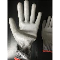 13 gauge Knitted Cut level 3 coated PU palm gloves/Cut resistant gloves Manufactures