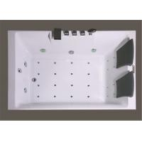 Square Freestanding Whirlpool Bathtubs , Whirlpool Jet Tubs For Small Bathrooms Manufactures