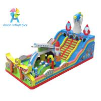 Buy cheap 2017 Fashion SPACE INVADERS design Kids Giant Inflatable playground from wholesalers