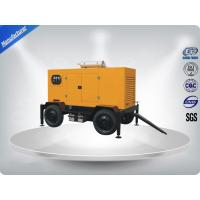 144kw / 180kva  Diesel Trailer Generator Easy Moving Powered By Perkins Engine Manufactures