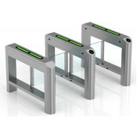 High Security Supermarket Swing Gate Card Reading Smart Turnstile Manufactures