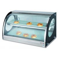 Counter Top Bread Display Cabinet Food Warmer Showcase Electric Heating 40-85°C Manufactures