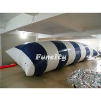 0.9MM PVC Tarpaulin Inflatable Lake Toys , Water Proof Inflatable Water Blob Manufactures