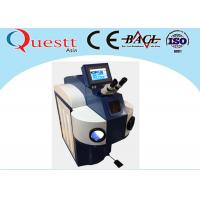 High Corrosion Bearing Jewelry Laser Welding Machine 300W With LED Lamp Microscope Manufactures