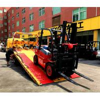 Energy Saving Diesel Forklift Truck 360mm/S Lifting Speed With 150mm Fork Width Manufactures