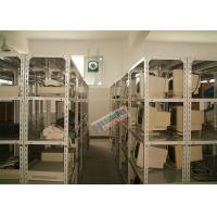 Storing Slotted Angle Storage Racks , Light Duty Boltless Rivet Shelving 600mm Deep Manufactures