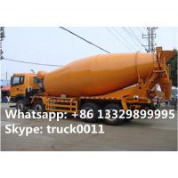 Quality Foton LHD Euro 3 8*375hp 16cbm cement mixer truck for sale, factory sale 8*4 heavy duty  mixer drum mounted on truck for sale