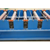Quality 0.3mm - 0.8mm Thickness Roof Panel / Sheet Forming Machine Double Layer SGS for sale