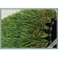 Great Weather Adaptability Landscaping Artificial Turf / Fake Grass 7 Years Warranty Manufactures