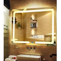 China Sheraton Hotel Silver Bathroom Vanity Wall Mirrors Customized 4mm 5mm 6mm on sale