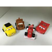 BPA free Vinyl Pullback Racer Cars toy, PVC Cars pull-back vehicle toy Manufactures