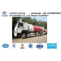 factory sale best price HOWO brand propane gas dispenser truck, 20cubic -25cubic lpg gas truck for refillin gas cylinder Manufactures