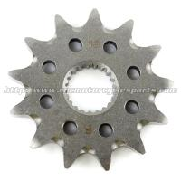 Heat Treatment Motorcycle Front Sprocket With Safety Strength Necessary Manufactures