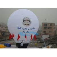 Helium Filled Air Balloon Model Huge Inflatable Balls 5M Height Manufactures