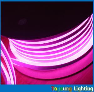 China 220v/110v/24v led rope light 10*18mm rgb neon flex light with bottom price on sale