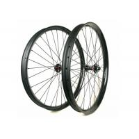 Quality 50MM Height 25MM Width Carbon Mountain Bike Wheelset 29ER Plus 60 Psi for sale