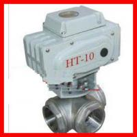 Vertical 3 Way Ball Valve / Stainless Steel Ball Check Valve Durable Manufactures