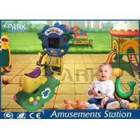 Elephant / Dinosaur Coin Operated Amusement Kids Ride Machines