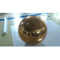 Inflatable Gold Mirror Ball Ornaments / Inflatable Glitter Ball Manufactures