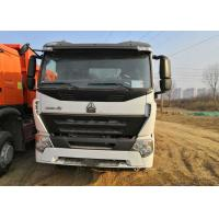 White Howo 6x4 Tipper Truck 3 Axle Dump Truck Heavy Duty 30 Tons Loading Manufactures